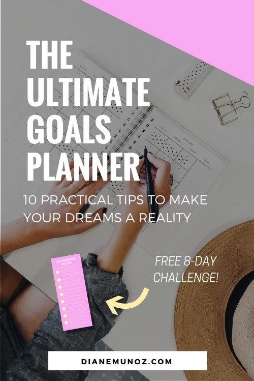 The ultimate goals planner