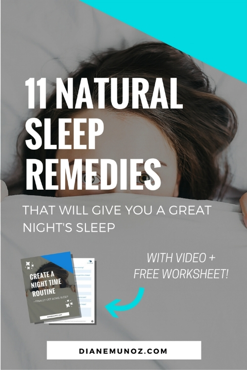 Natural Sleep Remedies that Will Give You a Great Night's Sleep