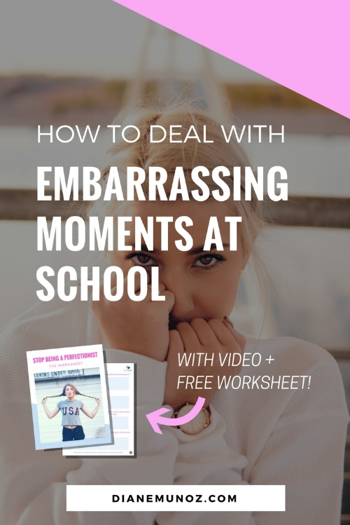 How to Deal with Embarrassing Moments at School