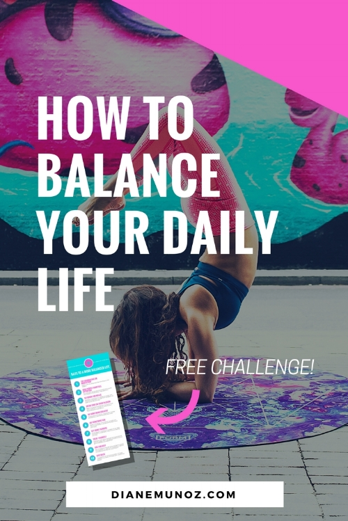 How to Balance Your Daily Life