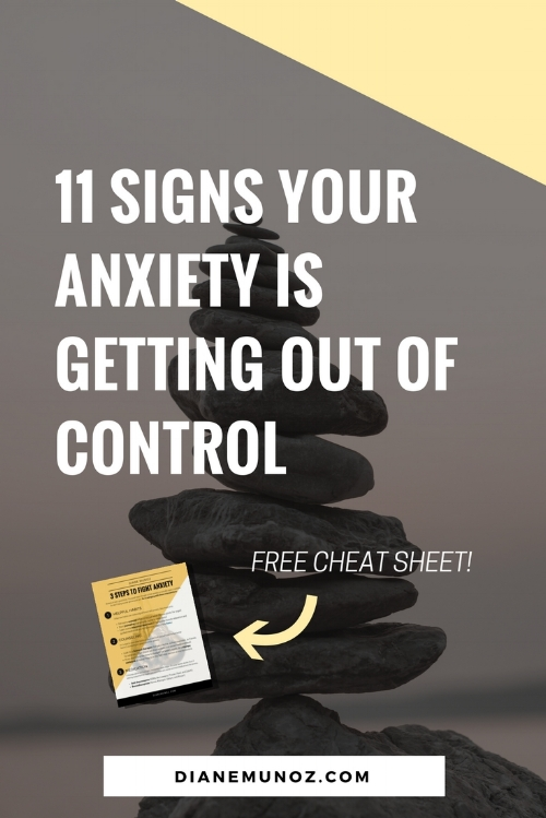 11 Signs Your Anxiety is Getting Out of Control