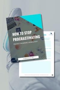 How to Stop Procrastinating Already!