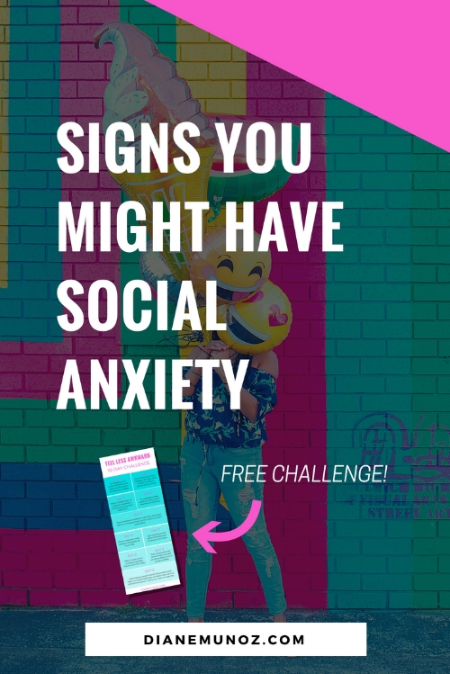 10 Signs that You Might Have Social Anxiety
