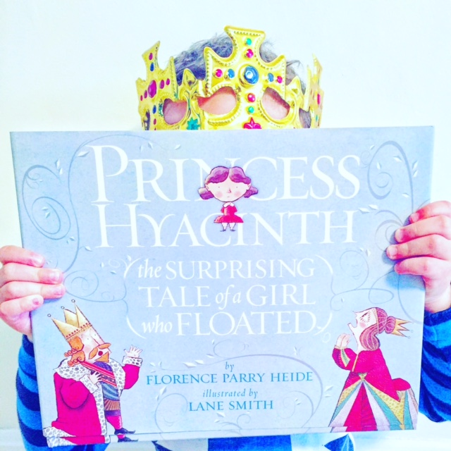 Self confidence books, including self esteem books for kids like Princess Hyacinth, the Surprising Tale of a Girl who Floated