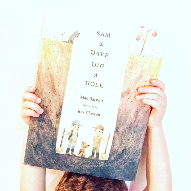 Funny children's book, Sam and Dave Dig a Hole, a Favorite Children's Book!