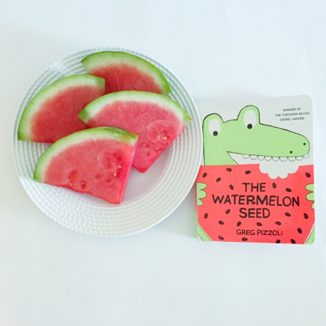 Best Board Books, The Watermelon Seed! One of the best books for one year old and best books for two year old kid.