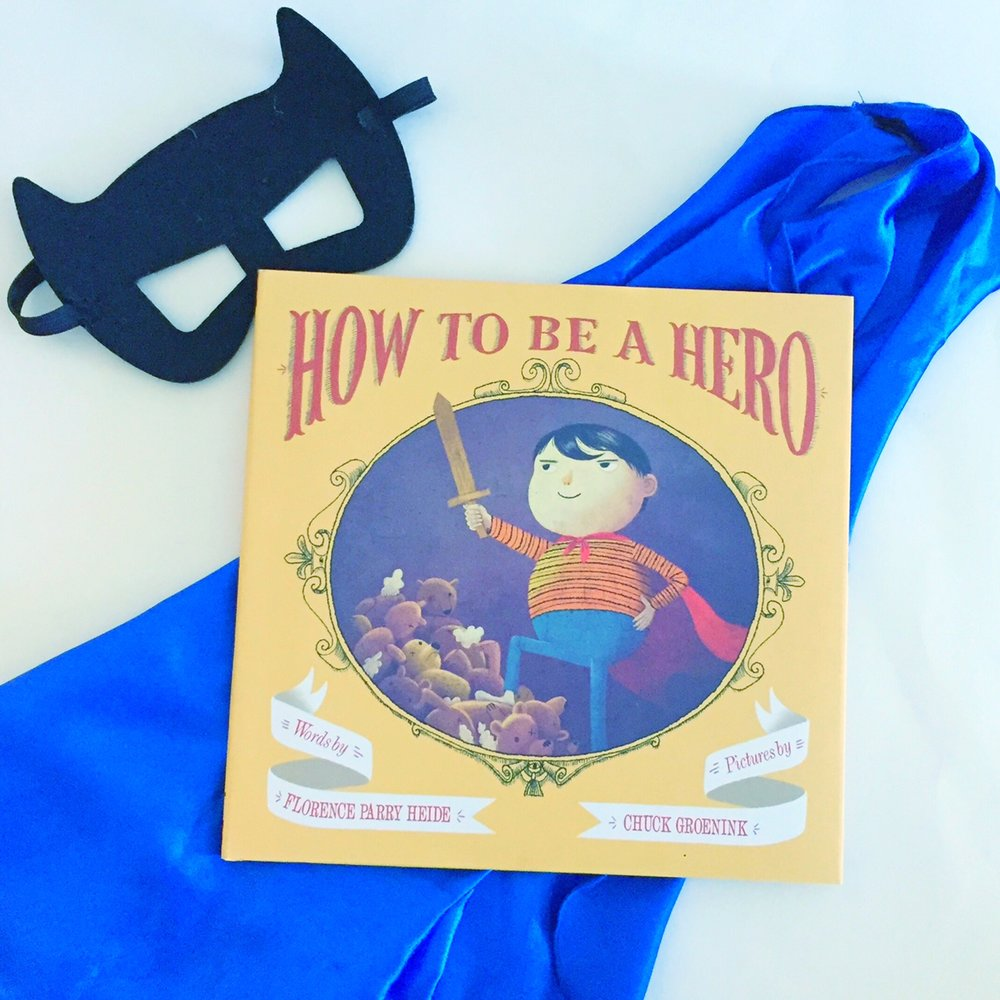 Funny children's books, How to be a Hero, a favorite children's book!