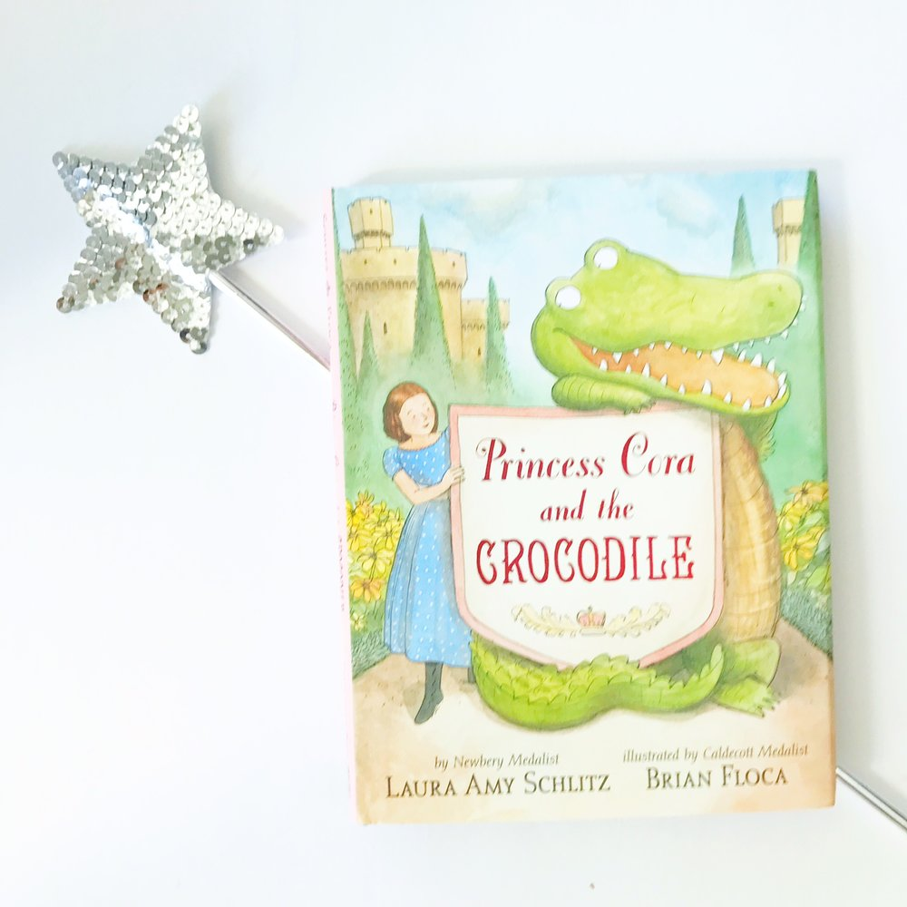 Best Books for beginning Readers and easy chapter books: Princess Cora and the Crocodile!