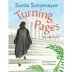 nonfiction picture book, Turning Pages