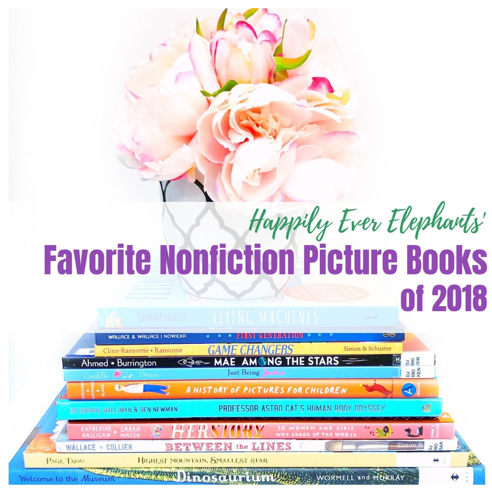 Nonfiction picture books, our favorites from the year.