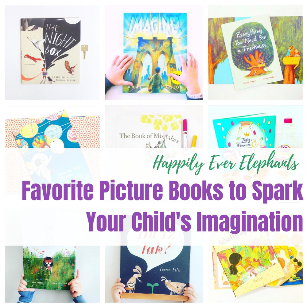 Children's Books About Imagination Guaranteed to Inspire Creativity!