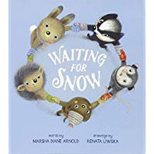 Waiting for Snow by Marsha Diane Arnold and Renata Liwska picture books about winter picture books about snow.jpg