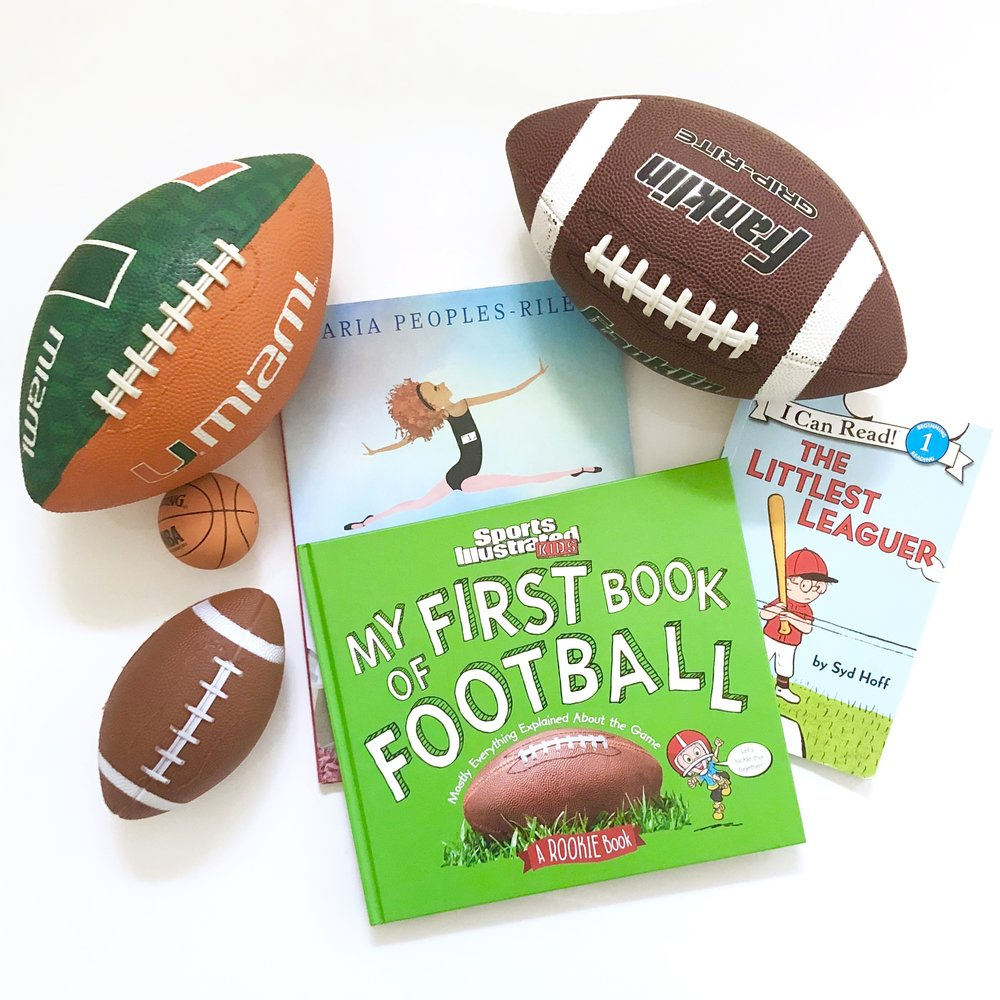 Touchdown! Our favorite children's books about sports!