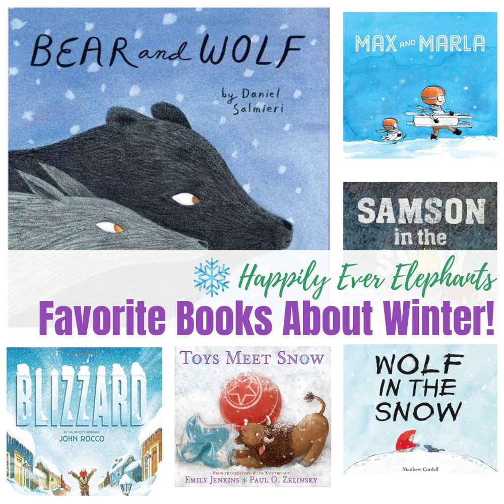 Favorite Books About Winter and Amazing Picture Books About Snow