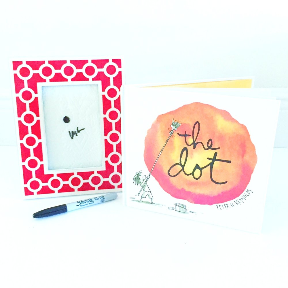 Peter Reynolds' The Dot is one of the very best books on creativity for kids!