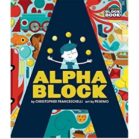 Alphablock best board books and alphabet books for toddlers