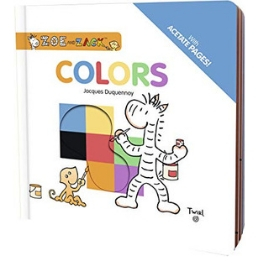 Zoe and Zack Colors best board books for teaching toddlers colors