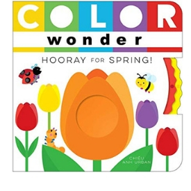 best board books for teaching toddlers colors, Color Wonder
