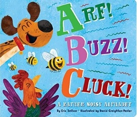 Arf Buzz Cluck best board books and alphabet books for toddlers