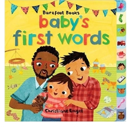Diverse Baby Books, Baby's First Words Barefoot Baby