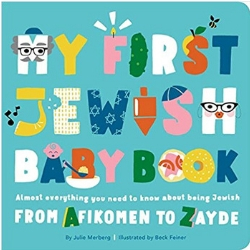 Diverse Baby Books My First Jewish Baby Book