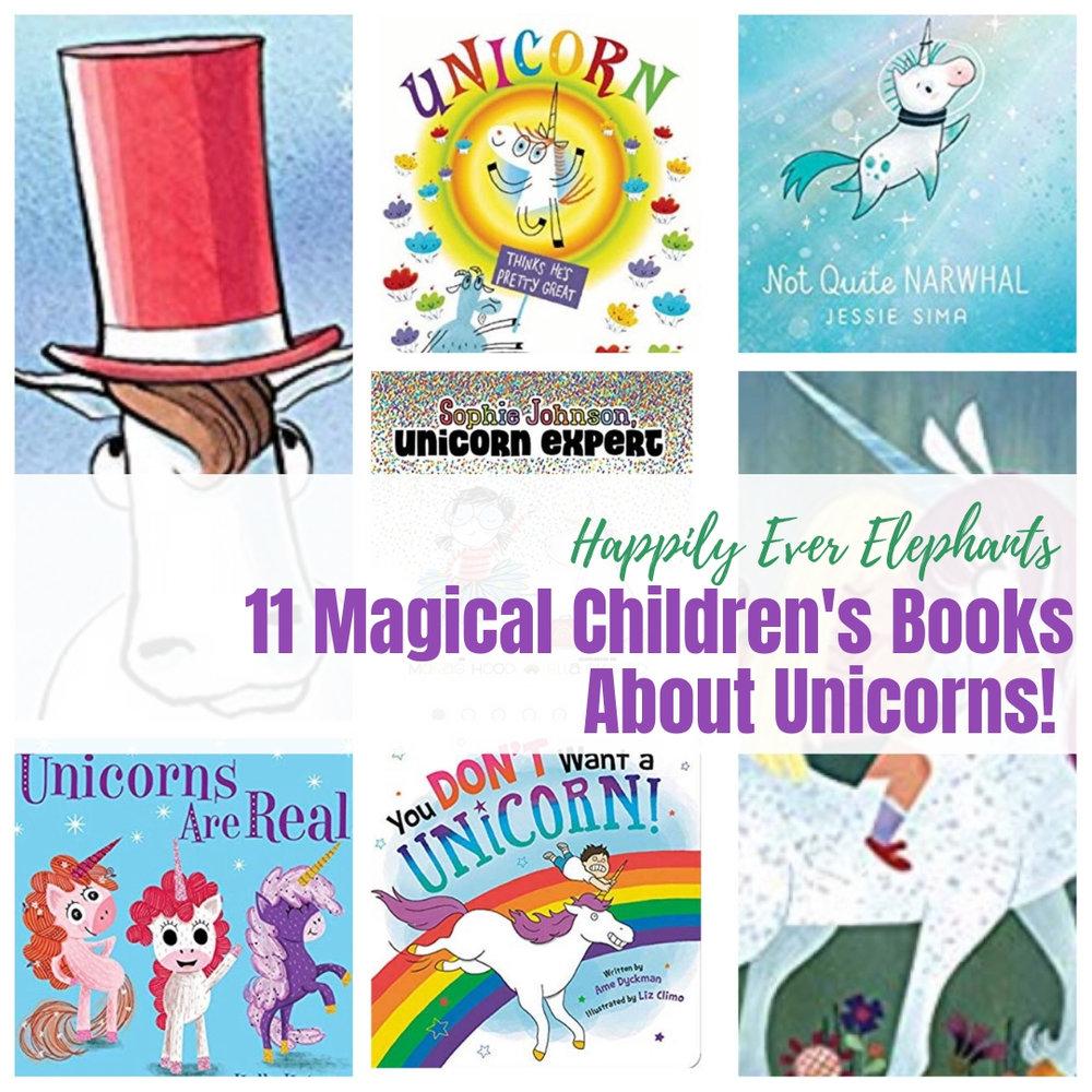 11 Picture Books About Unicorns!