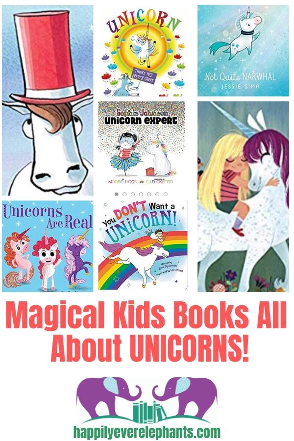 Picture Books About Unicorns!