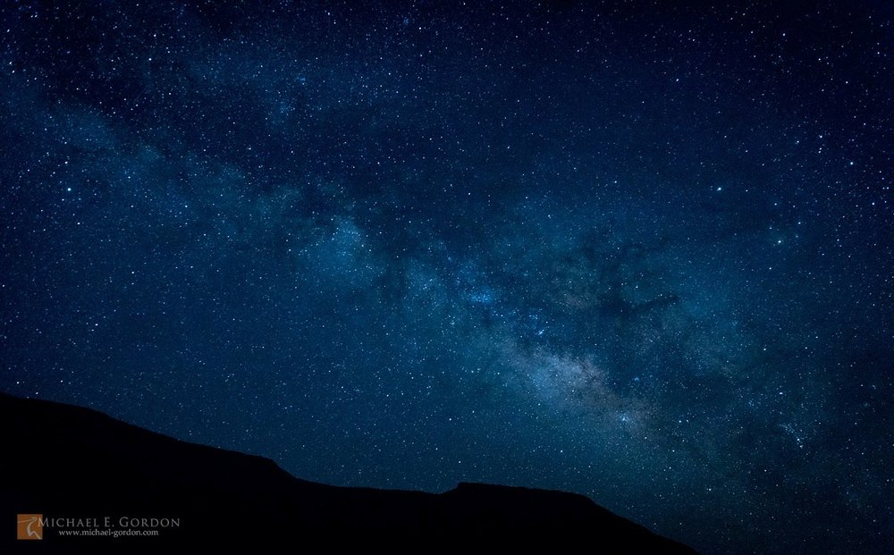 The Milky Way will be visible later in the night on Nov 11, weather permitting. Photo by Michael Gordon.