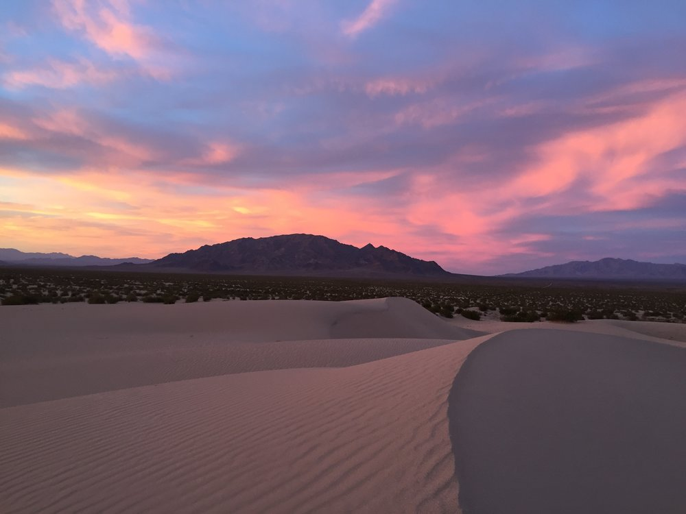 Cadiz Dunes in Mojave Trails National Monument.  This monument remains in the crosshairs even though it may not have been mentioned in Interior's recommendations to the President.