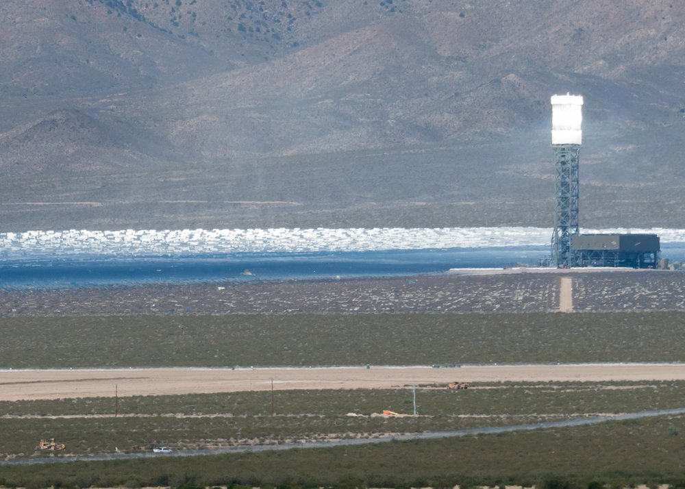 The Ivanpah Solar project adjacent to the Preserve destroyed over 5.6 square miles of intact desert wildlands and continues to kill avian species.  Solar on rooftops and already-disturbed lands would be a more sustainable approach to generating clean energy.