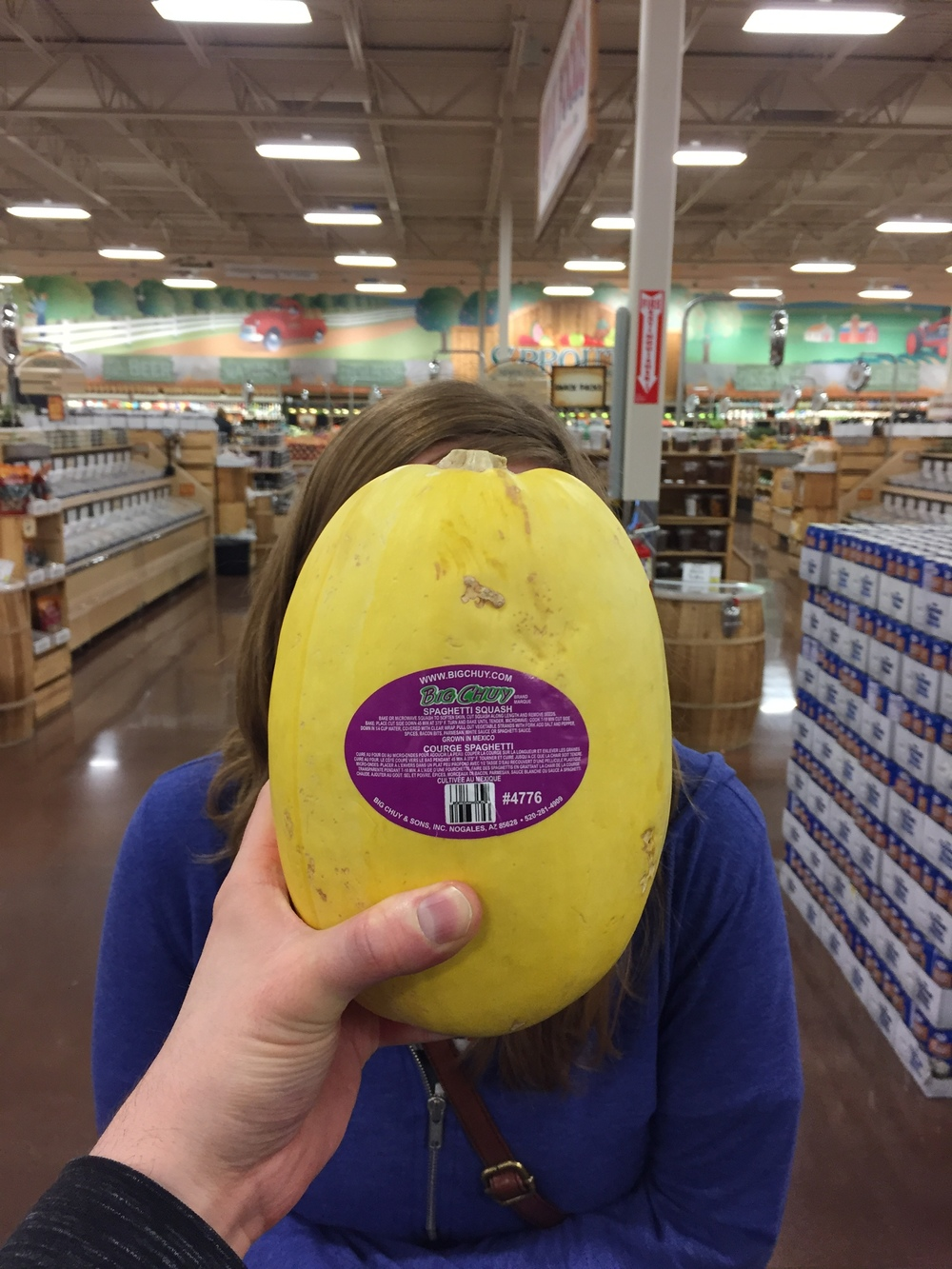 If you've ever wondered whether your face is the shape of a spaghetti squash, mine is.