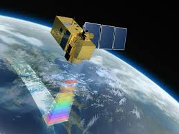 The European Space Agency's  Sentinel 3 satellite which was launched last year.