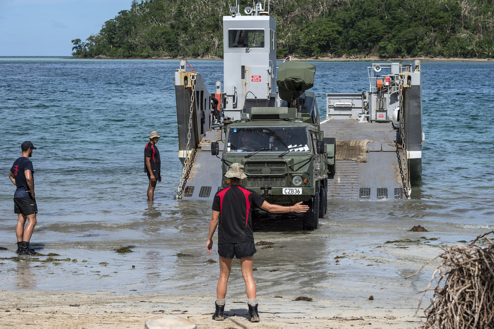 SurfZoneView was used by NZDF to support beach landings on a recent mission in Fiji.