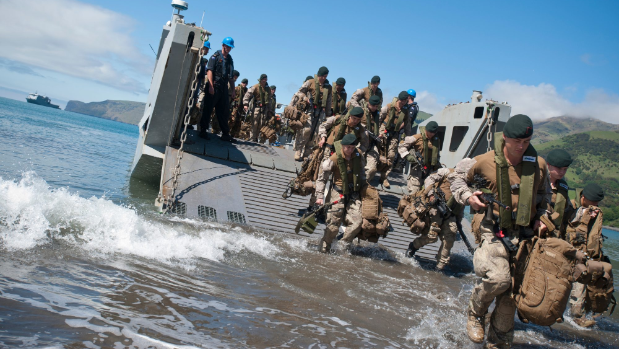 Safety Solutions, 25 Nov 2016 # MetOcean Solutions improves amphibious operation safety for defence
