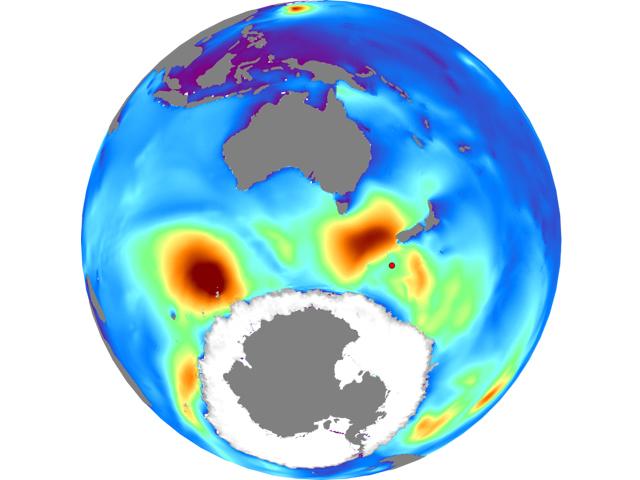 Surfline, 25 May 2017<br><br>Massive 60ft+ Wave Measured in<br>Southern Ocean
