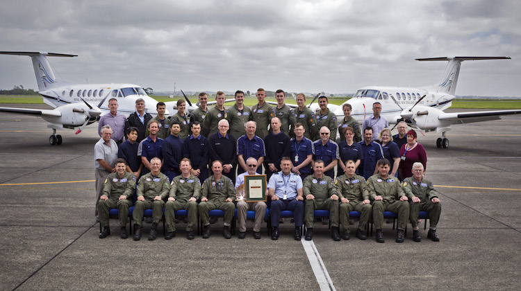 Australian Aviation, 26 Nov 2016<br><br>Hawker Pacific receives award from<br>NZ Defence Force
