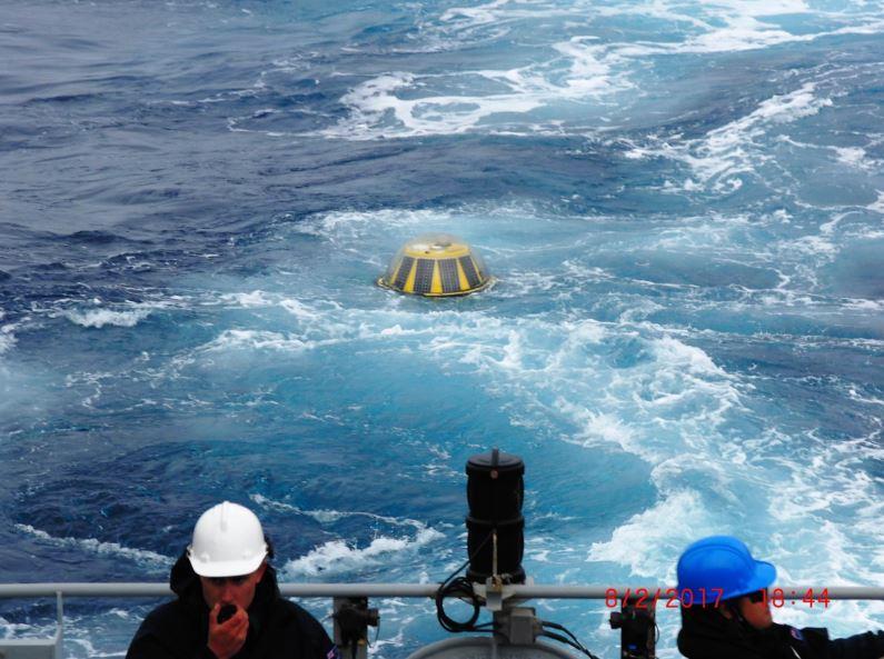 NZ Coastal Society, Jul 2017<br><br>World's southernmost wave buoy<br>measures huge wave