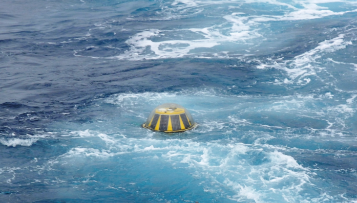 NZ Herald, 9 Aug 2017<br><br>Oh buoy, scientific buoy snaps mooring,<br>goes rogue in Southern Ocean