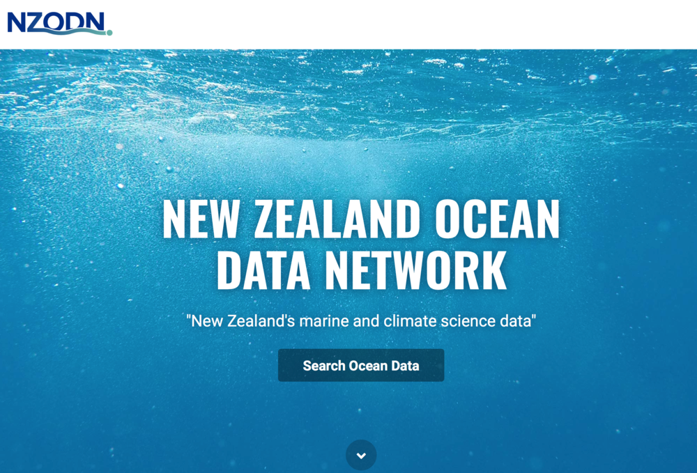 Find out more about the New Zealand Ocean Data Network at  https://nzodn.nz