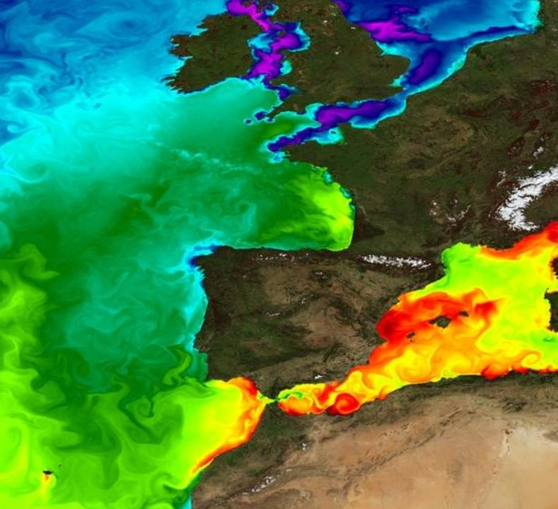 Copernicus, 4 Dec 2017<br><br>Finding boat adrift during<br>Minitransat sailing race