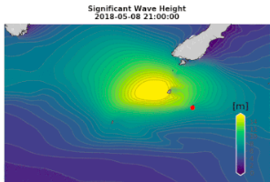 WeatherWatch, 9 May 2018<br><br>NZ's MetOcean measures largest wave<br>ever recorded in Southern Hemisphere