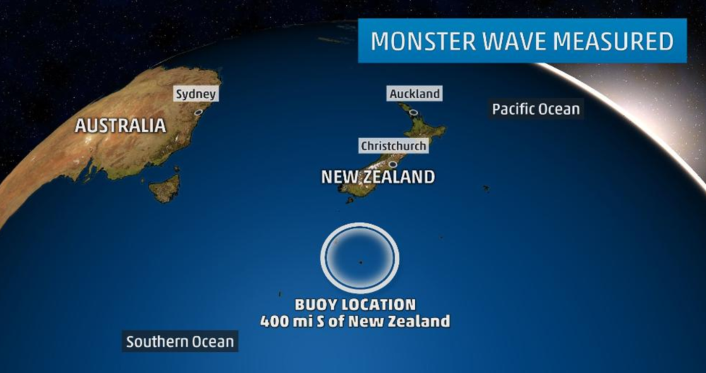 The Weather Channel, 15 May 2018 # Record 78-Foot Wave Recorded in Southern Hemisphere