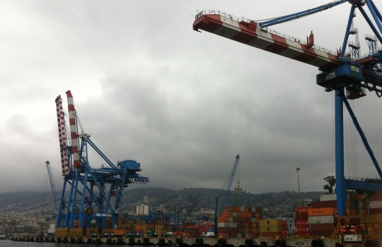 """Aqua, 28 Nov 2018 # Expert in shipping and ports: """"Chile needs a culture change"""""""