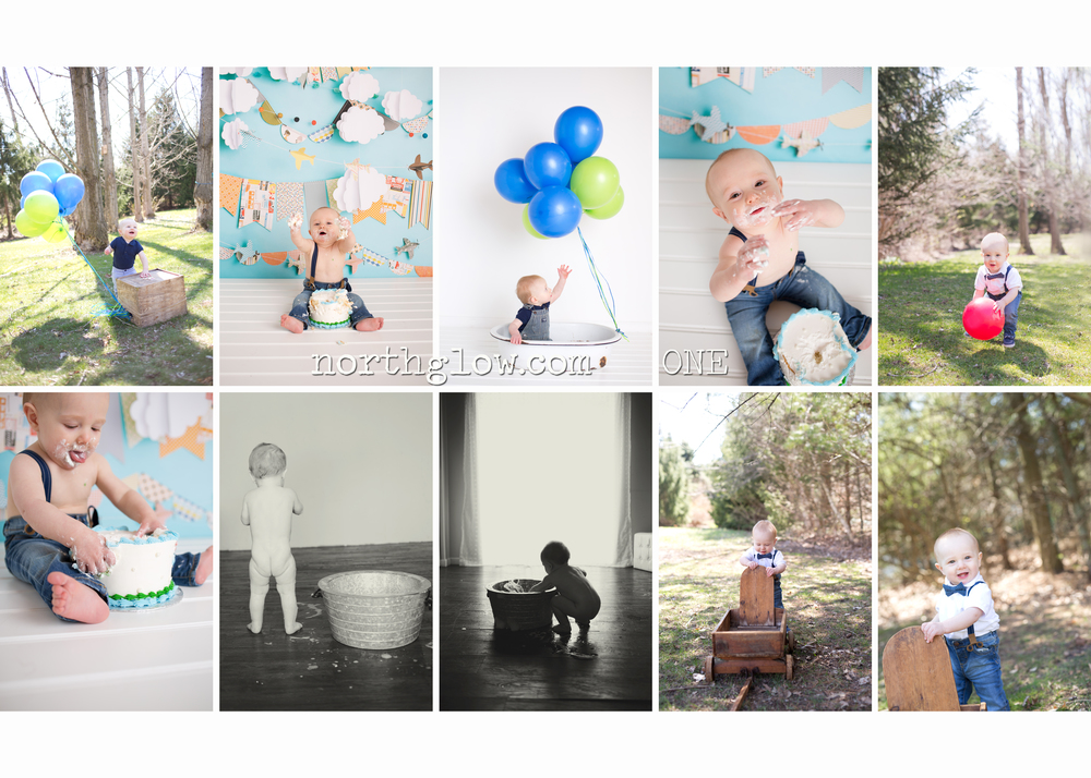 Blake's Year One | NorthGlow Photography