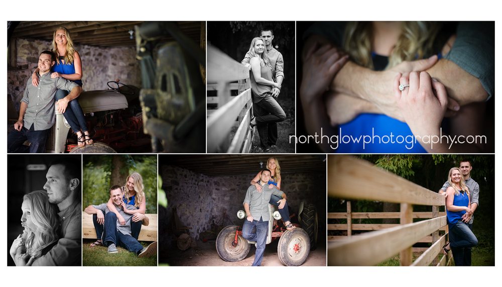 Morgan and Joe Engagement | NorthGlow Photography