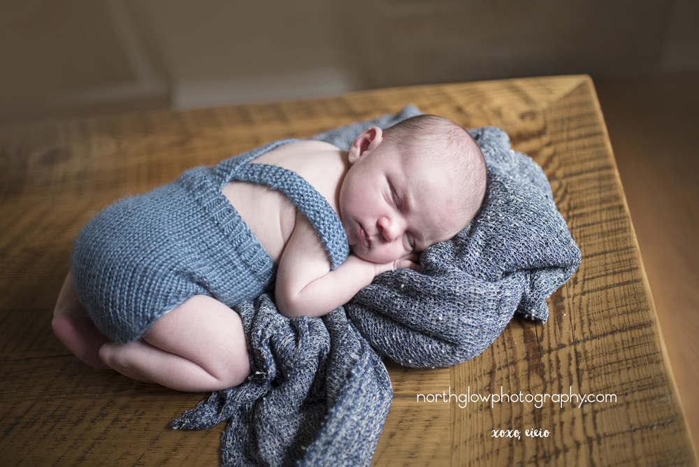 Jackson Newborn | NorthGlow Photography