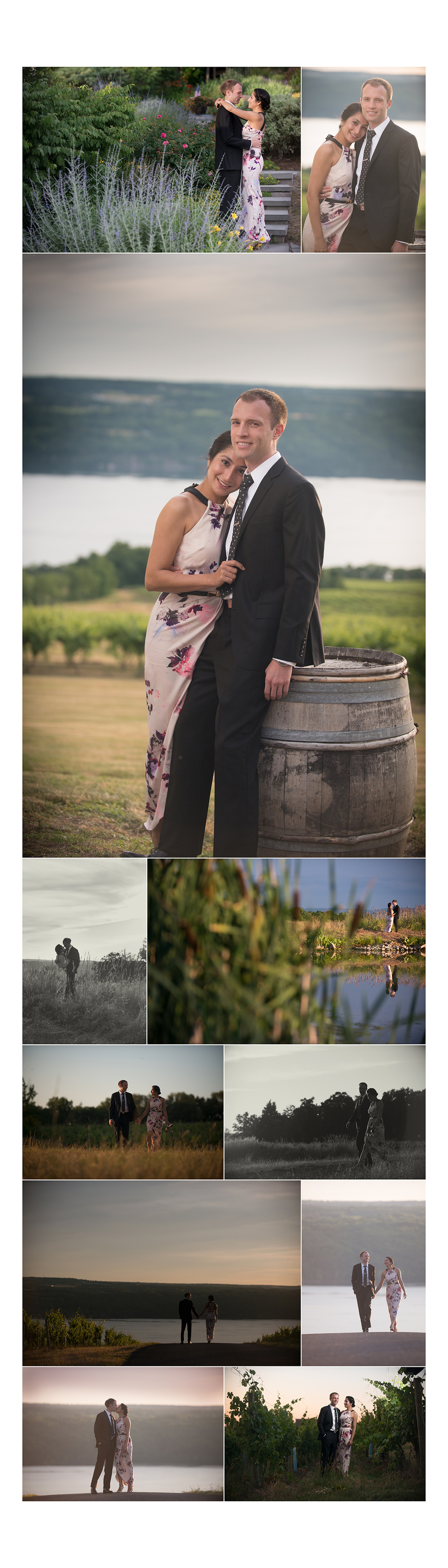 Engagement at the Vineyard | NorthGlow Photography