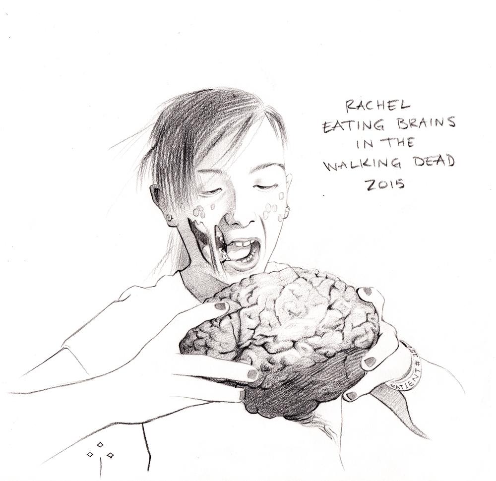 Rachel from the Walking Dead