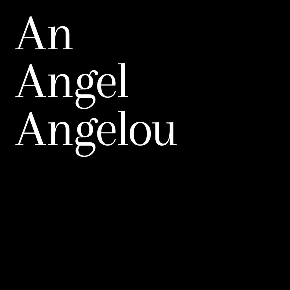 Remembering Maya Angelou.