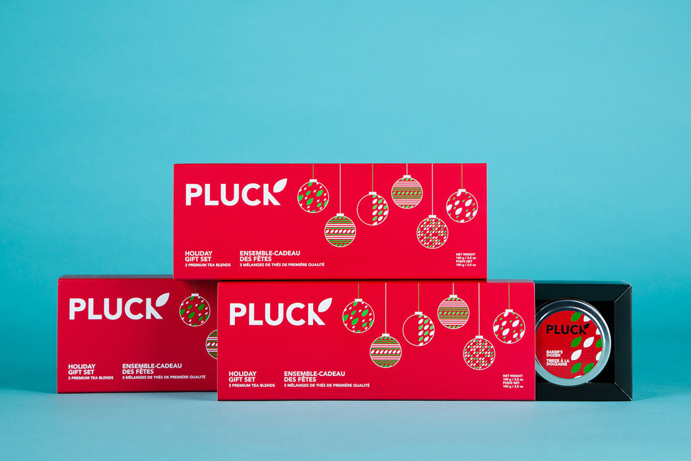 Pluck Teas / Package Design